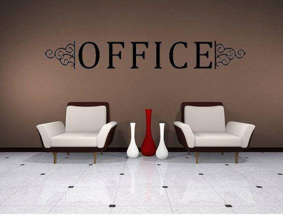 Office Vinyl Wall Decal Murals Business Decals Office Vinyl - Custom vinyl decal stickers for business