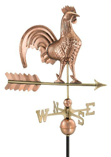 Garden Wind Vanes Designs Copper Rooster Rooster Pure Products