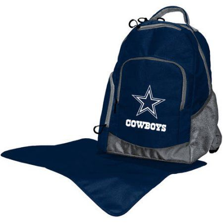 NFL Licensed Diaper Backpack Collection, Blue | Diaper bag