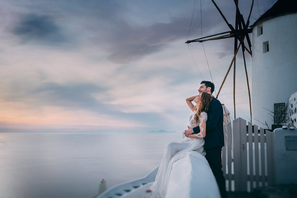 Tu Nguyen Wedding Photography Engagement Shooting Santorini Greece