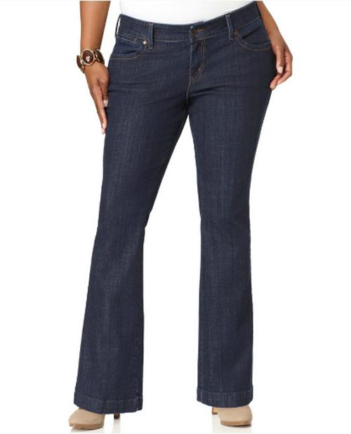 Flare Leg Levis Plus Size Jeans, Plus Size Trousers, Plus Size ...