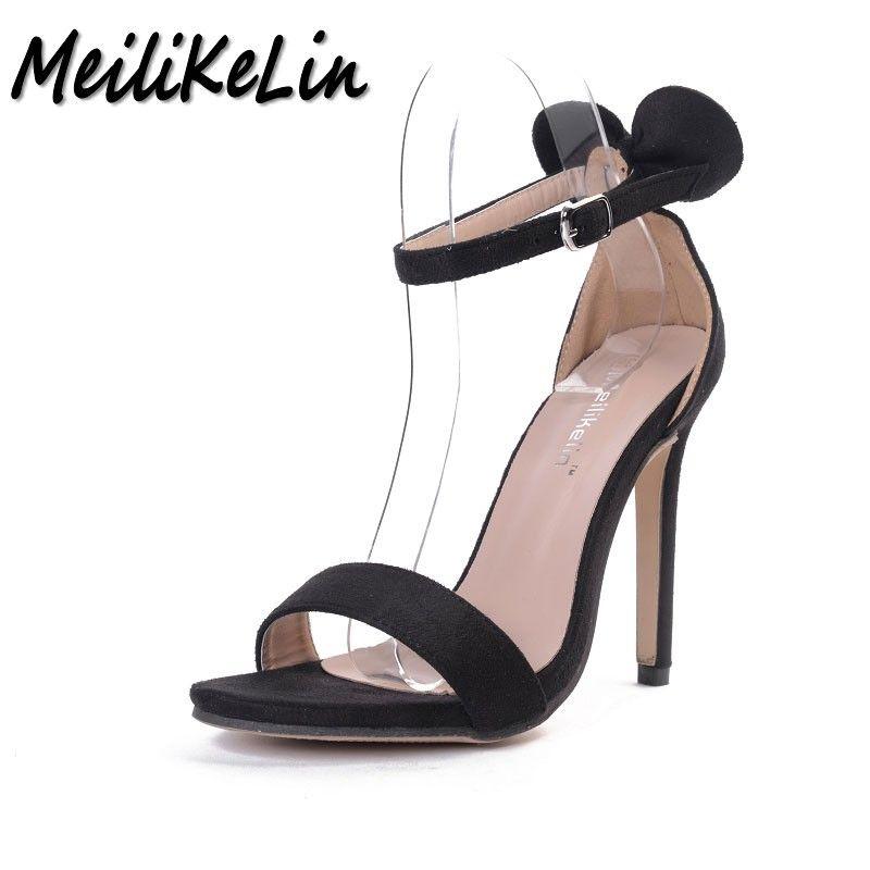 2d7ec71b994 MeiLiKeLin summer New Sexy Open toe women's high heels shoes woman ...