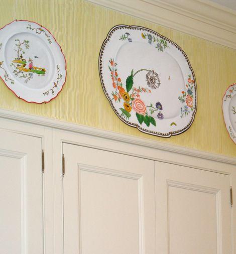 trompe l\u0027oeil plates mural painting Pinterest
