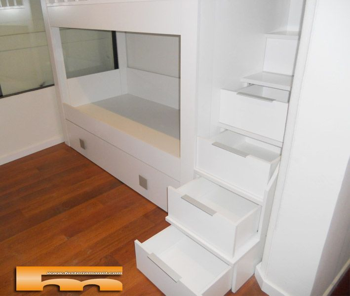 Litera a medida habitacion infantil manel barcelona for Habitacion 73 barcelona