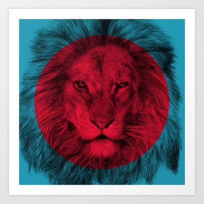Wild 5 by Eric Fan & Garima Dhawan Art Print by Garima Dhawan - $18.00