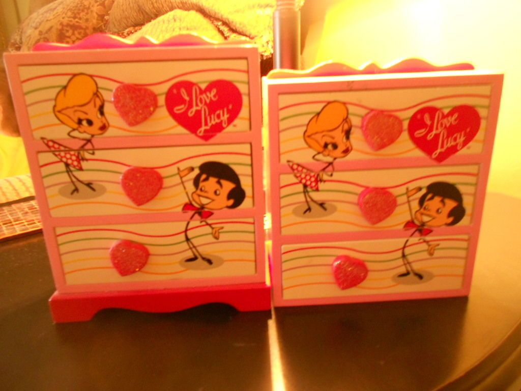 I Love Lucy trinket boxes
