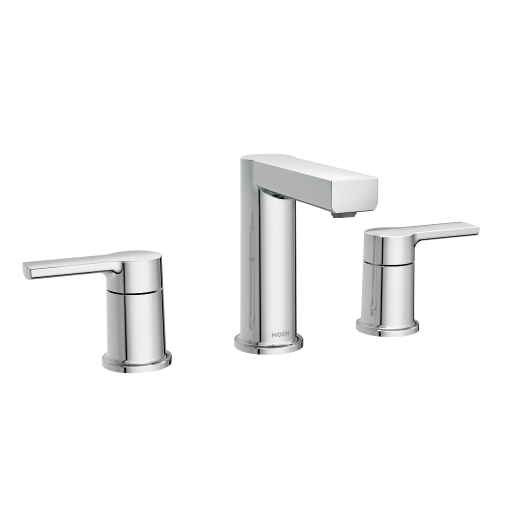 Rinza Chrome Two Handle Bathroom Faucet In 2020 Bathroom Faucets