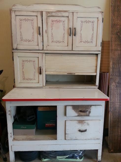 Wonderful Hoosier Cabinet Restoration!