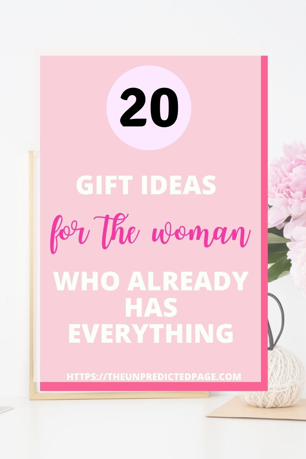 20 budget gift ideas for the woman who already has