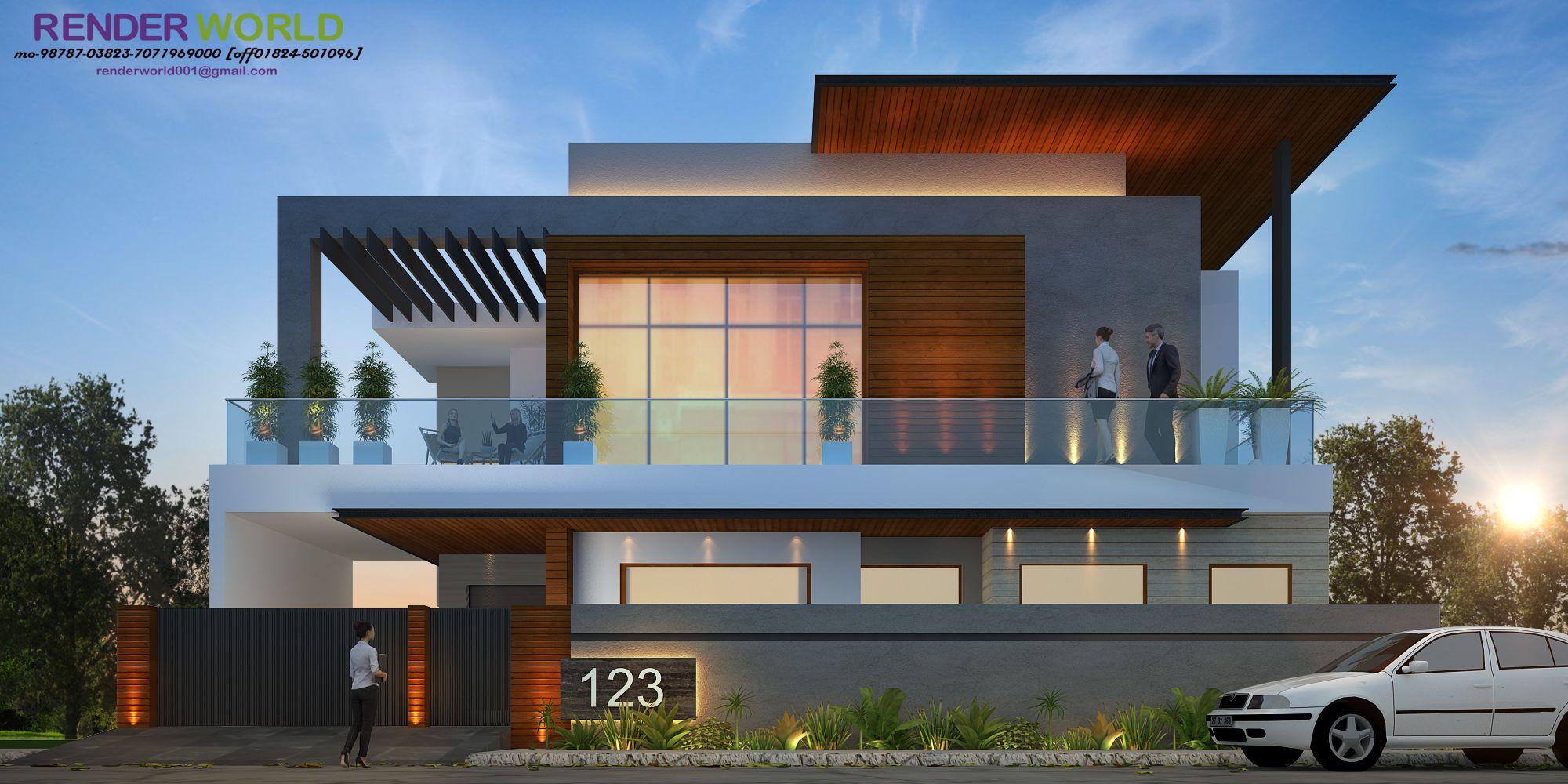 Modern Ele Modern Architecture House Bungalow House Design