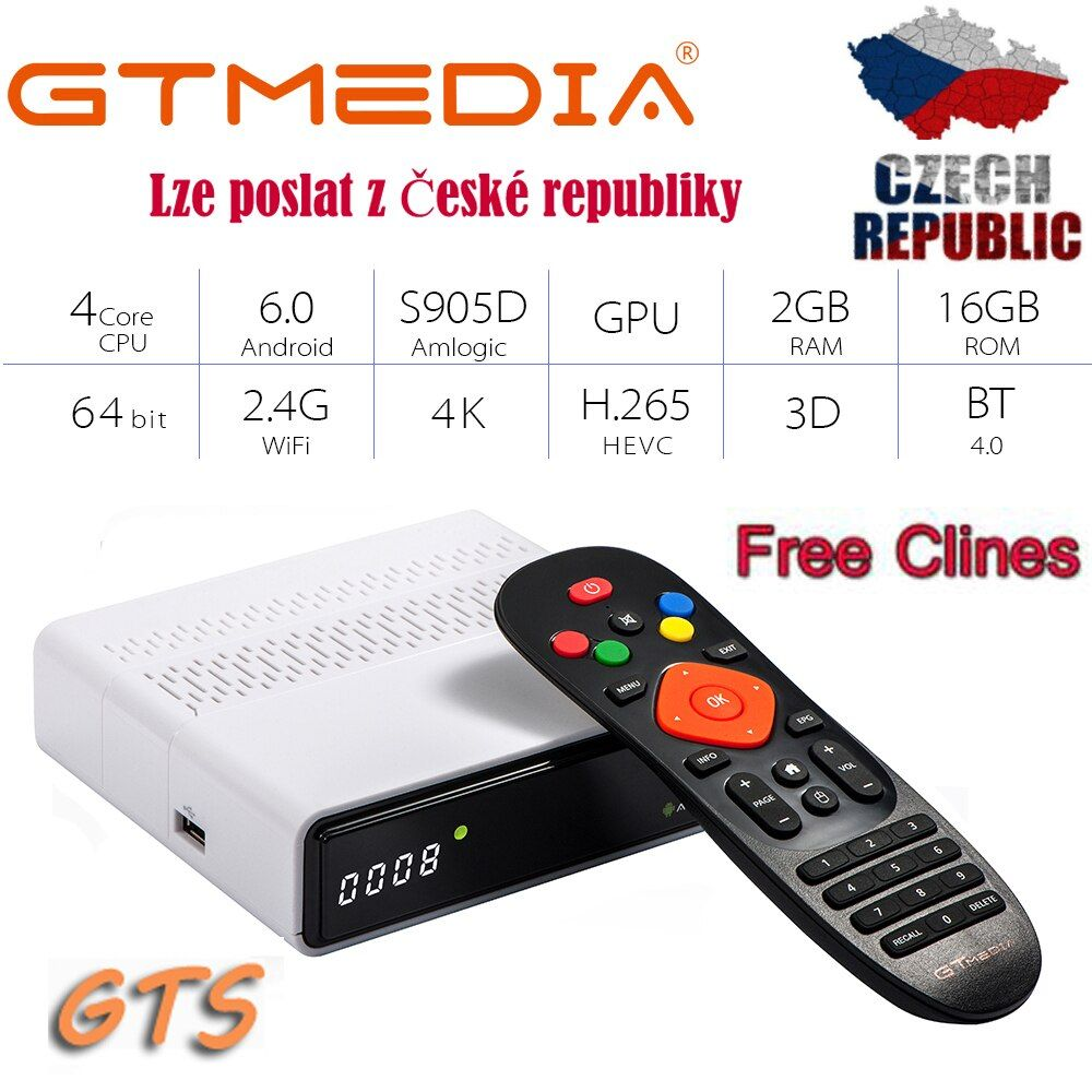 Brand Name GT MEDIA Package Yes High Definition Yes FTA