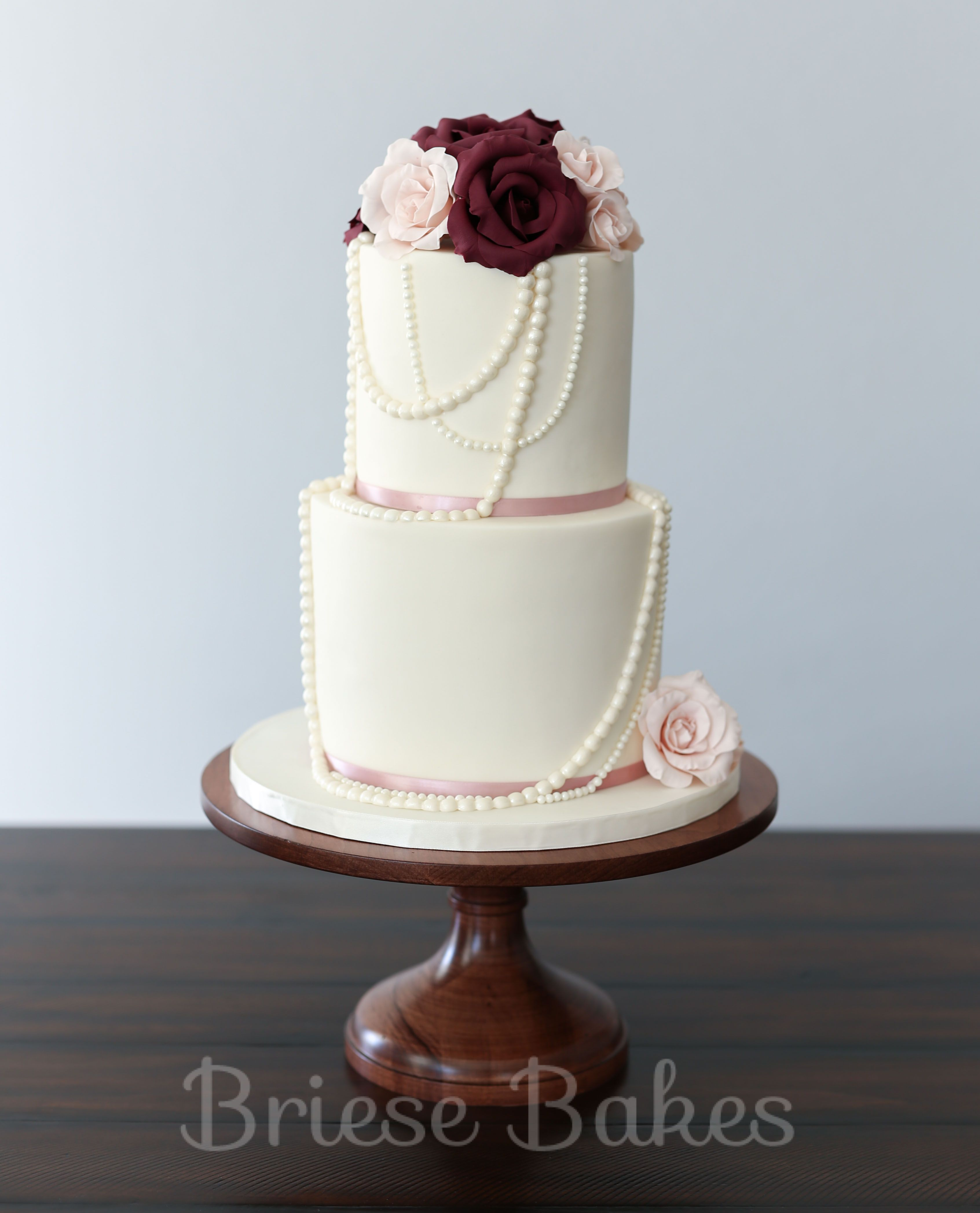 Cake with pearls by briese bakes cake pinterest cake