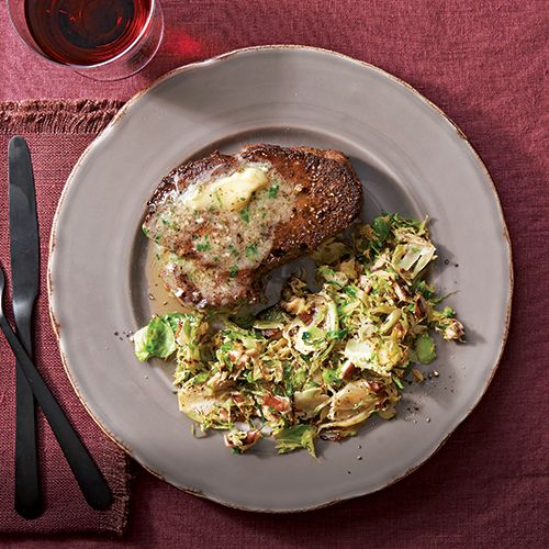 Cumin and Cracked-Pepper Filet Mignon with Brie Butter - FineCooking