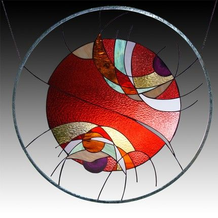 Contemporary Stained Glass Windows, high-quality gifts. http://launchgrowjoy.com/l-a-glass-studio/#