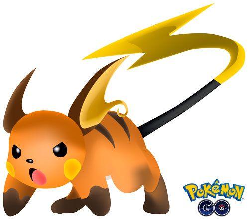 Raichu 1 de Pokémon Go