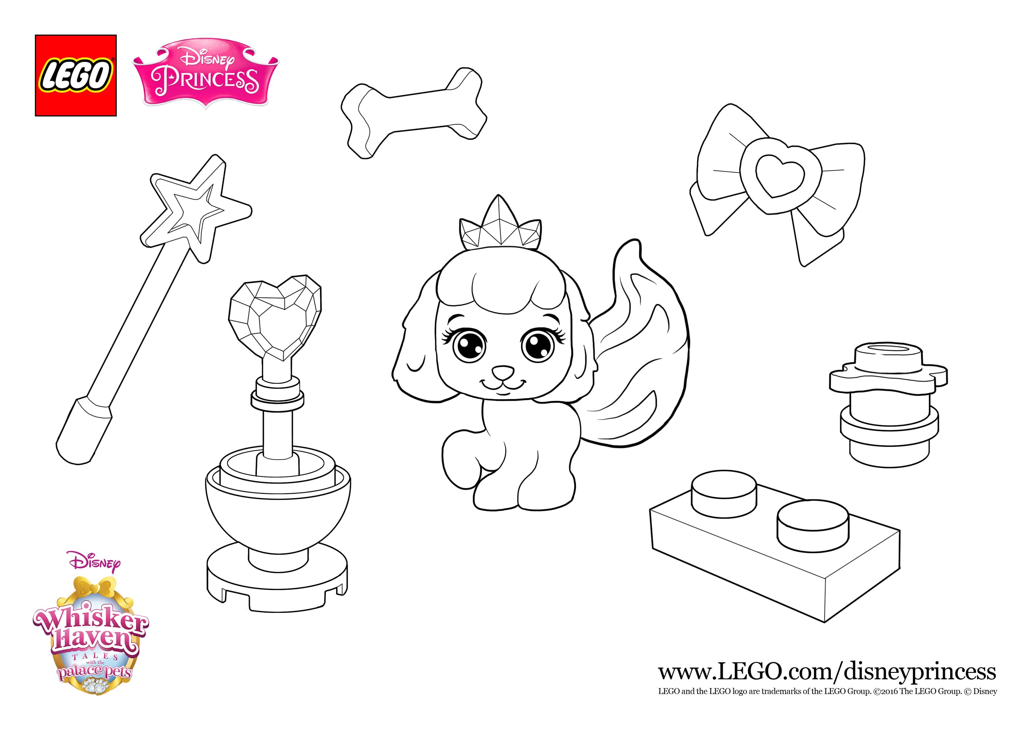 Print the sheet and get your pens ready for the cute colour in fun