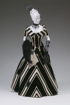 1890s: Jacques Doucet ball gown; The Mine Museum
