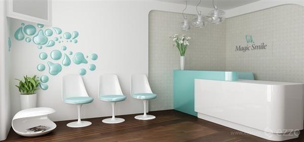 Clean And Elegant Muebles Para Consultorio Dental Diseno De Consultorio Medico Diseno De Techo