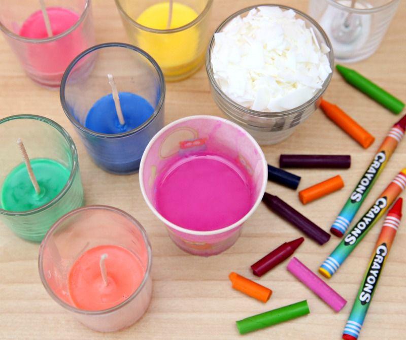 DIY Crayon Candles Step by Step Consumer Crafts Diy