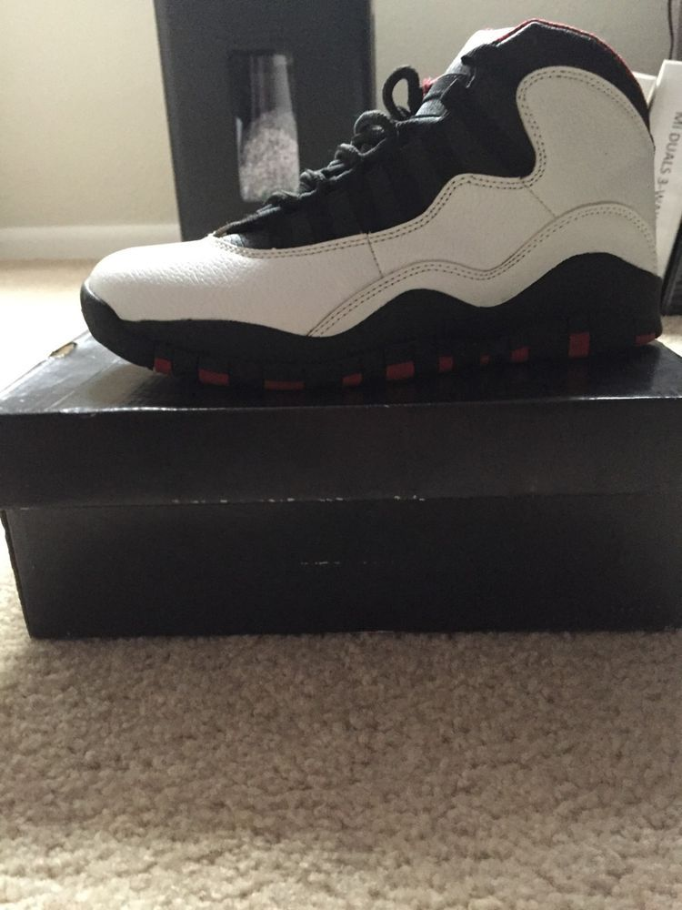 huge discount cb856 3236b Nike AirJordan 10 Retro Chicago Bulls (2012) Size 9.5 Only worn twice   fashion  clothing  shoes  accessories  mensshoes  athleticshoes (ebay link)
