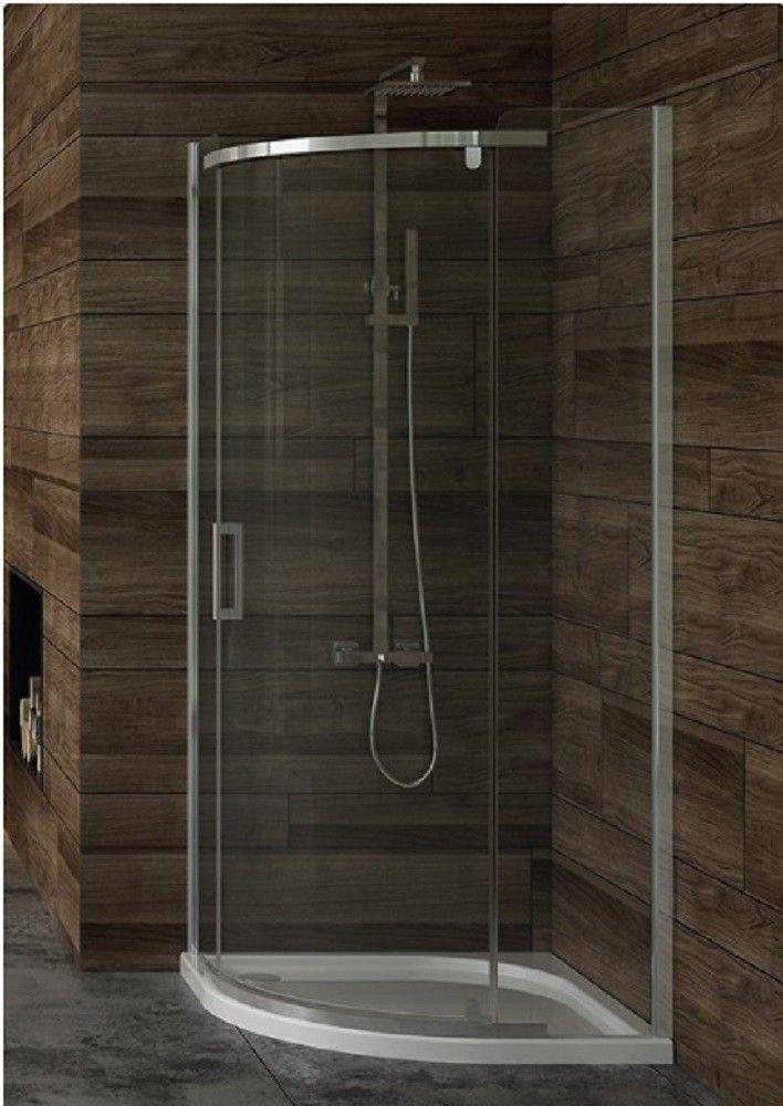 Asymetriche Duschkabine Mit Klarglas New Trendy New Komfort