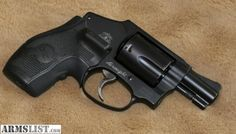 Smith & Wesson 442 airweight 38 cal  with Crimson Trace laser grip