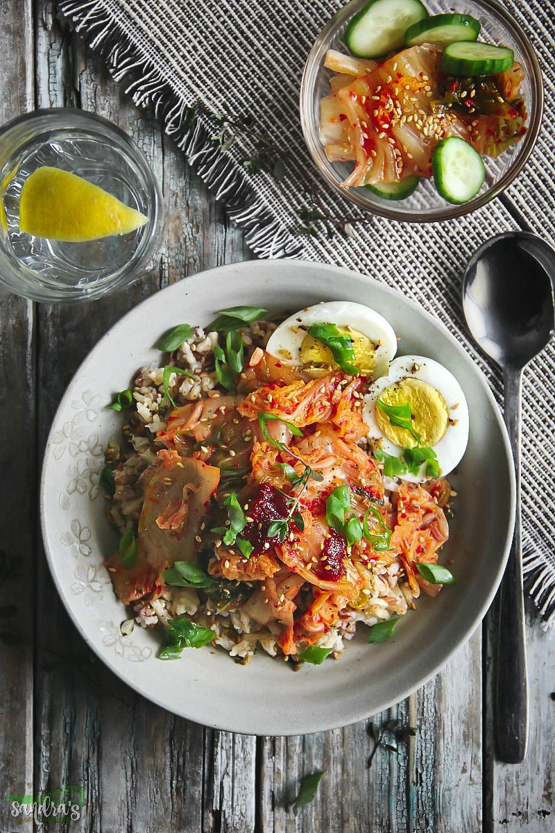 Multi grain medley bowl with kimchi recipe korea korean food multi grain medley bowl with kimchi find this pin and more on korea korean food recipes forumfinder Image collections