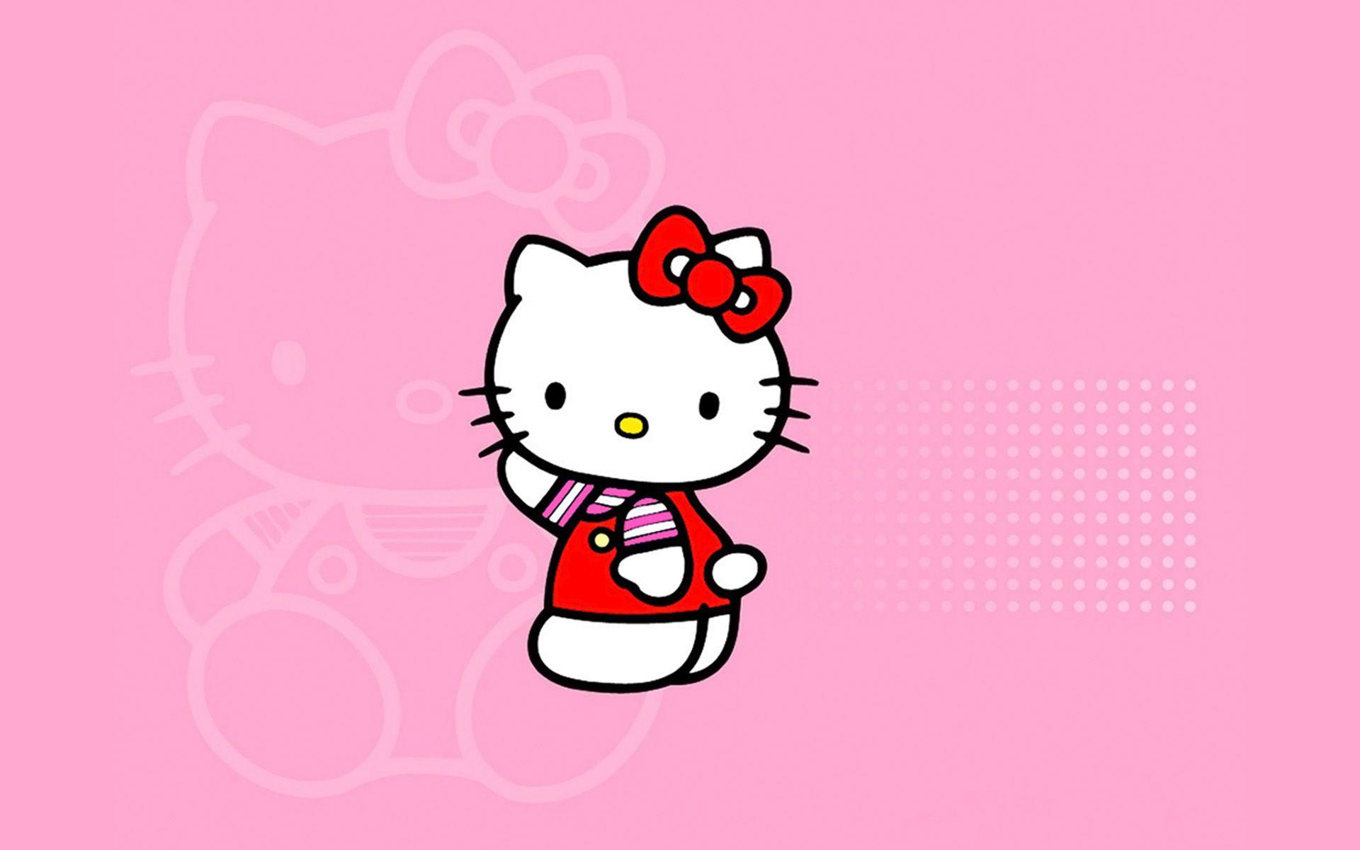 Pink Hello Kitty Wallpaper Hello kitty iphone wallpaper