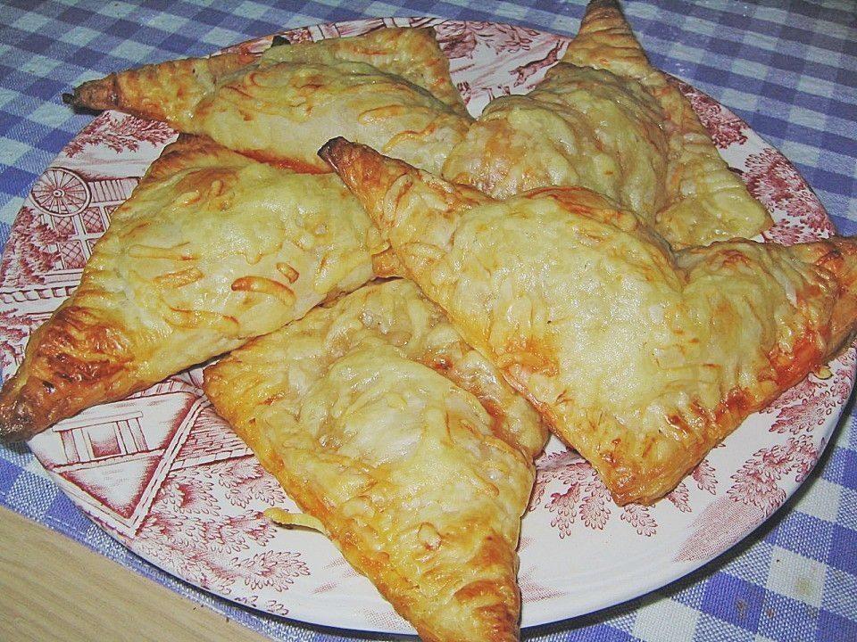 Pizzataschen aus Blätterteig von May68 | Chefkoch #indianfood Pizzataschen aus ... #paleo #paleorezepte #paleorezepteschnelle #rezepte