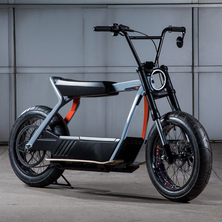 American Motorcycle Manufacturer Harley Davidson Also Turned Heads