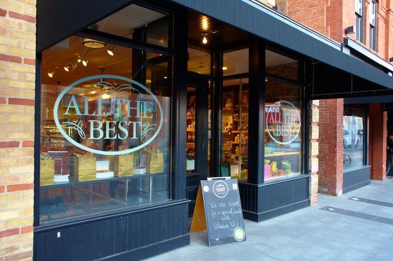 All the best fine foods is not just an ordinary grocery