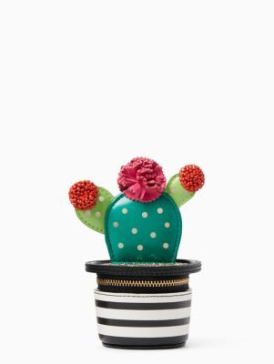 scenic route 3D cactus coin purse | Kate Spade New York
