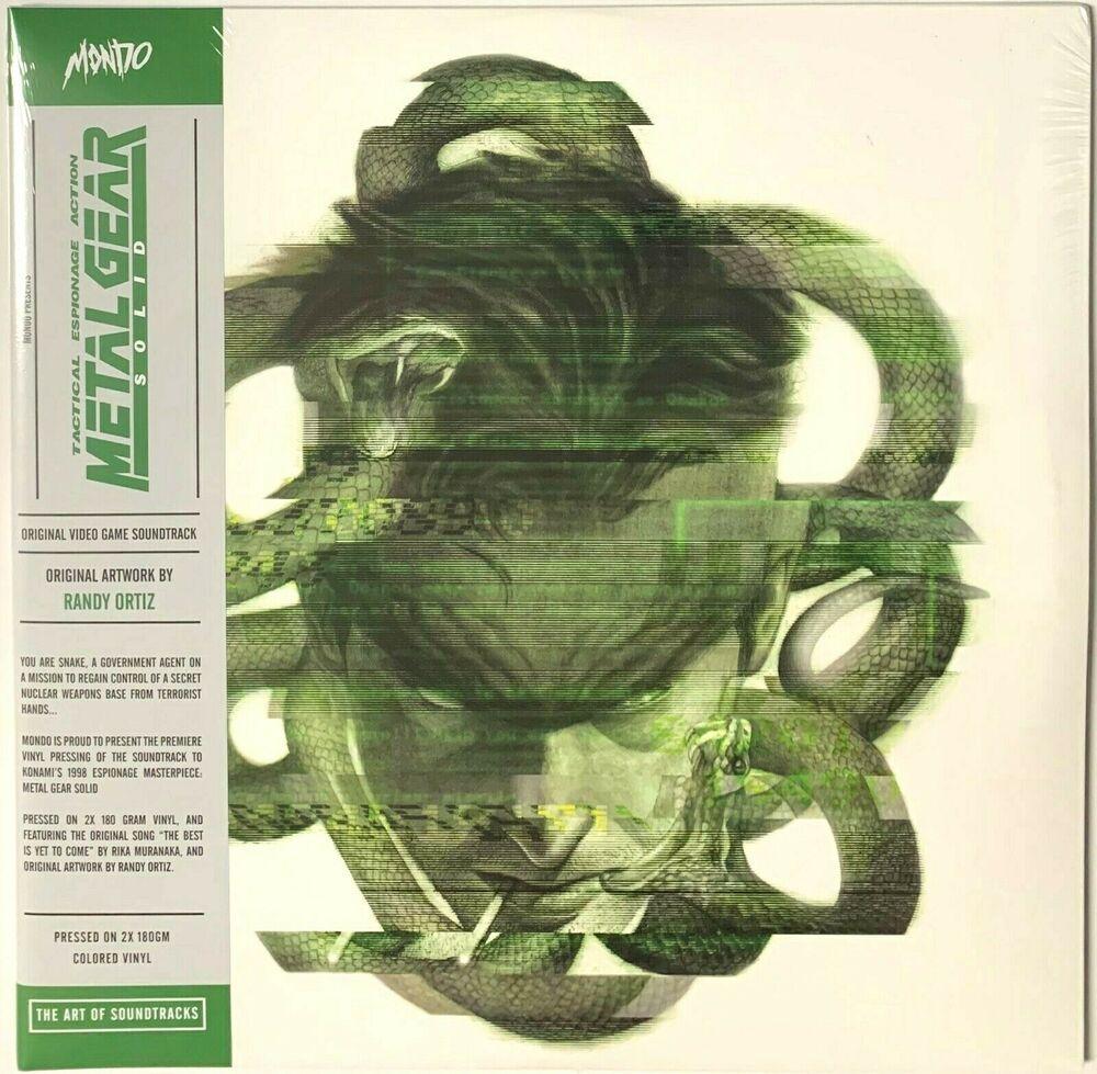Metal Gear Solid Original Video Game Soundtrack Green Smoke Vinyl Lp Record In 2020 Vinyl Vinyl Records Original Video Games