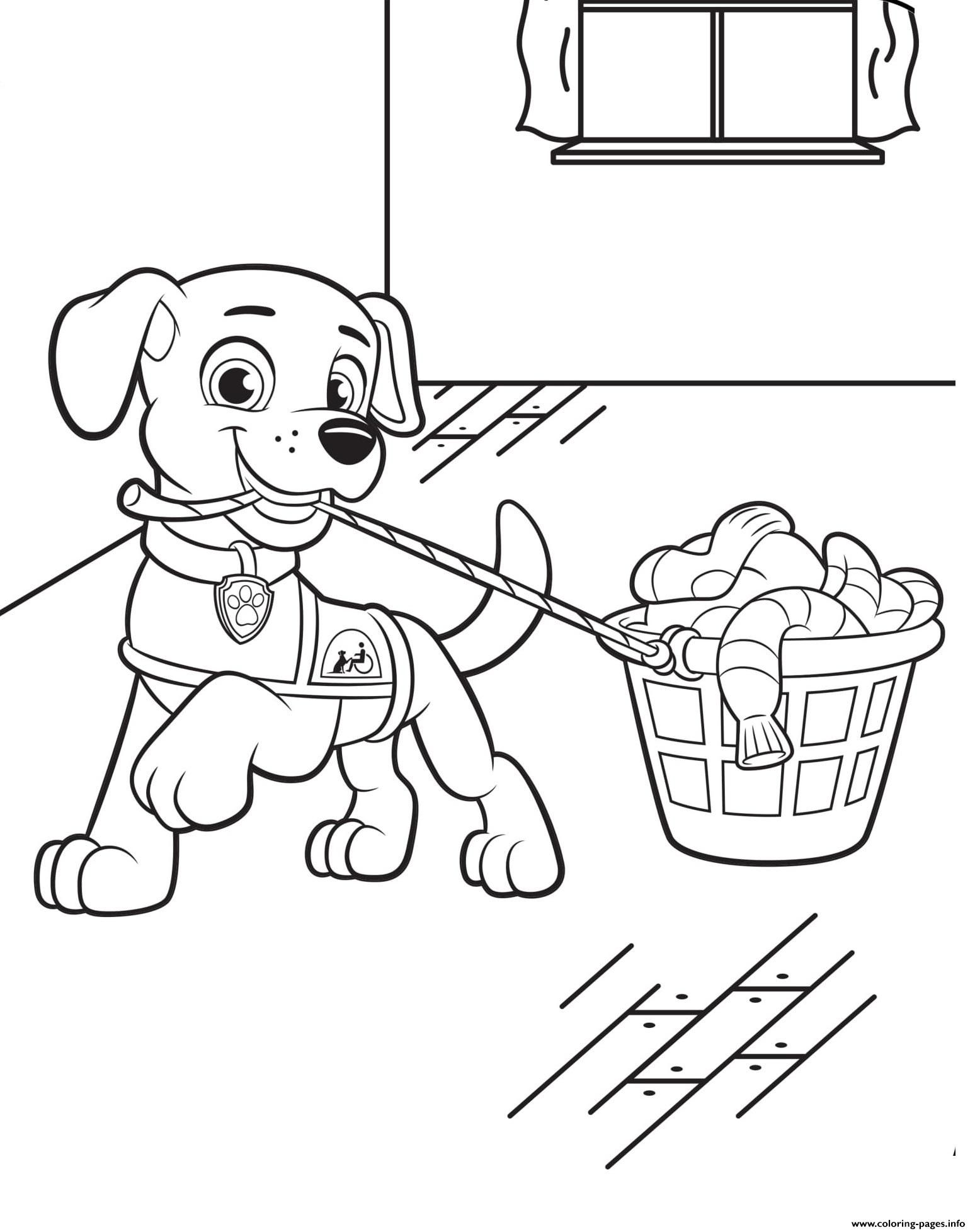 Print Canine Companions For Independence Helping Coloring Pages