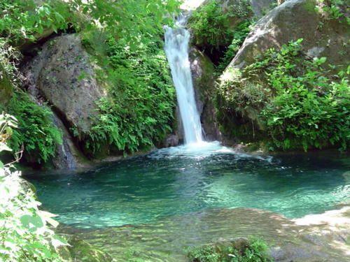 Salto #Estanzuela (Estanzuela waterfall) located in the #Tisey-Estanzuela Natural #Reserve.