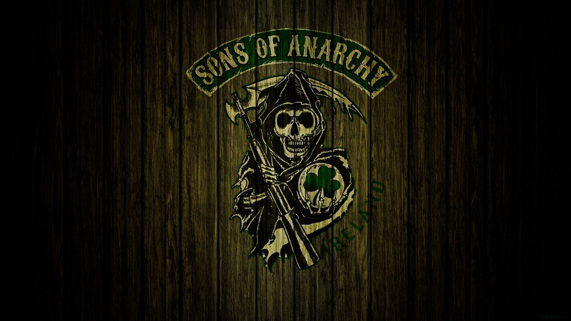SONS OF ANARCHY - BELFAST, NORTHERN IRELAND | SOA | Logos