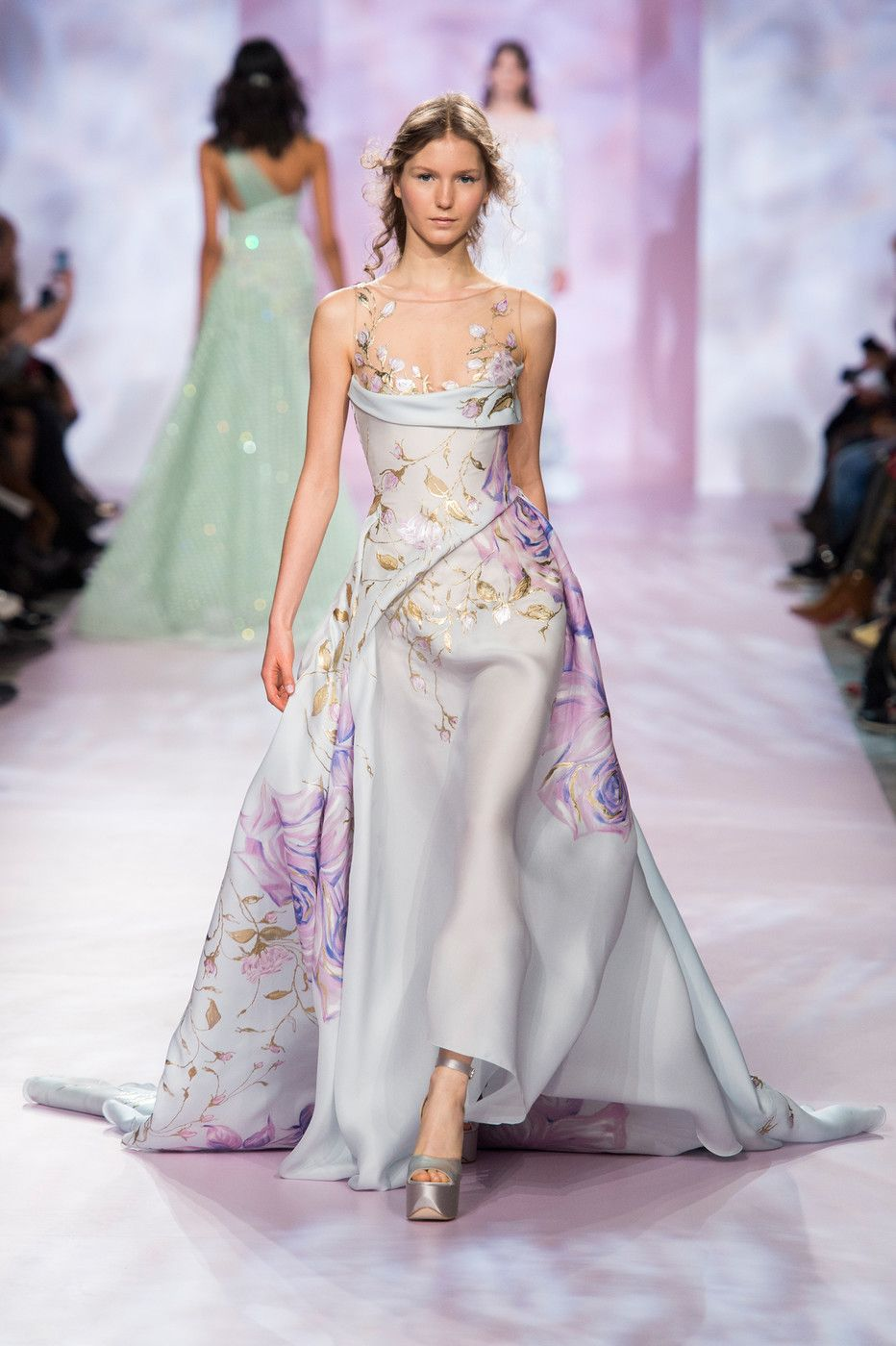 c1b0c23247ed Georges Chakra Couture, Spring 2017 - Couture's Most Beautiful Spring 2017  Runway Gowns - Livingly