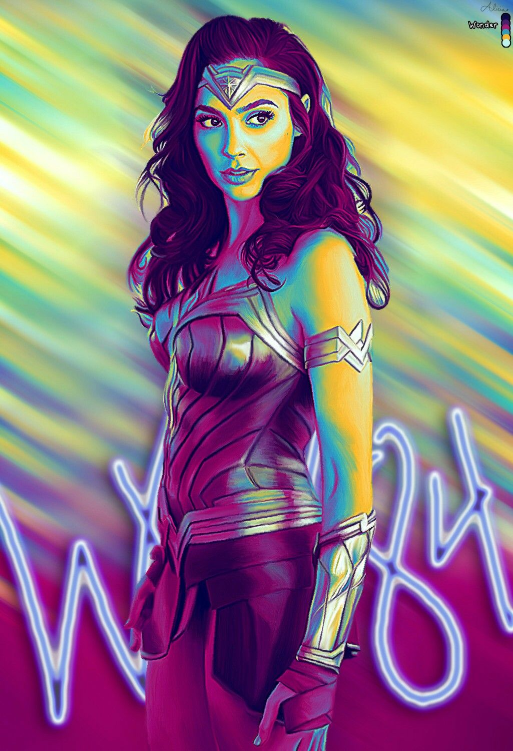 Wonder Woman 84 by Licie Laine Mulher maravilha