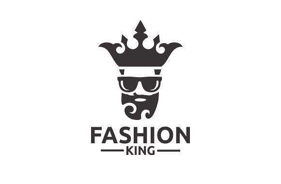 Fashion King by BekBlack on @creativemarket | Graphic design ...