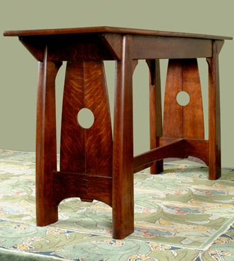 Beautiful Arts And Crafts Style Table Cold River Furniture