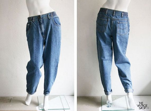 80er jeans hose r hre karottenhose gr 40 von thevintageshopberlin 30 00 v i n t a g e. Black Bedroom Furniture Sets. Home Design Ideas