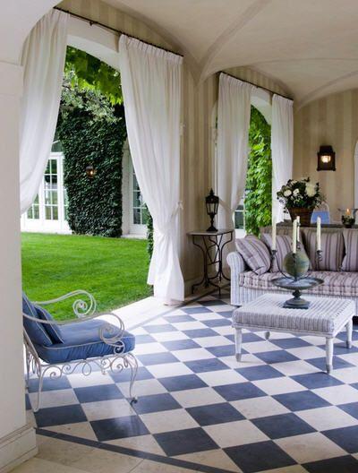cortinas para separar los ambientes Home Style \ Architecture