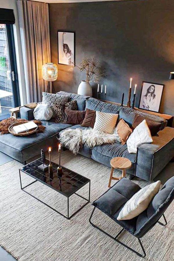 Photo of Nydelige ideer om stue-design for dette året – Side 42 av 43 – My Home Design …