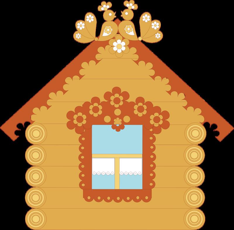 Картинки домика для детей с окошками, сентября