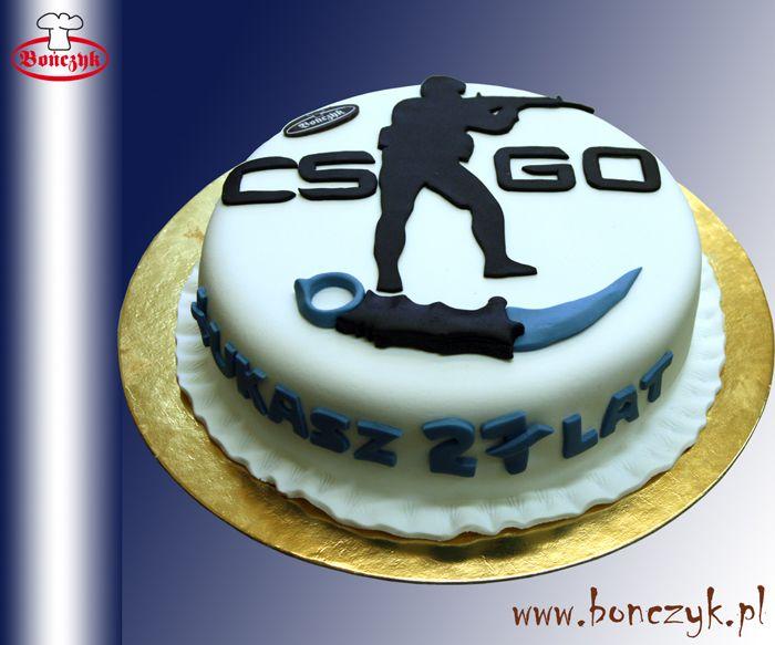 Csgo Counter Strike Nóż Knif Cake Tort Wwwbonczykpl