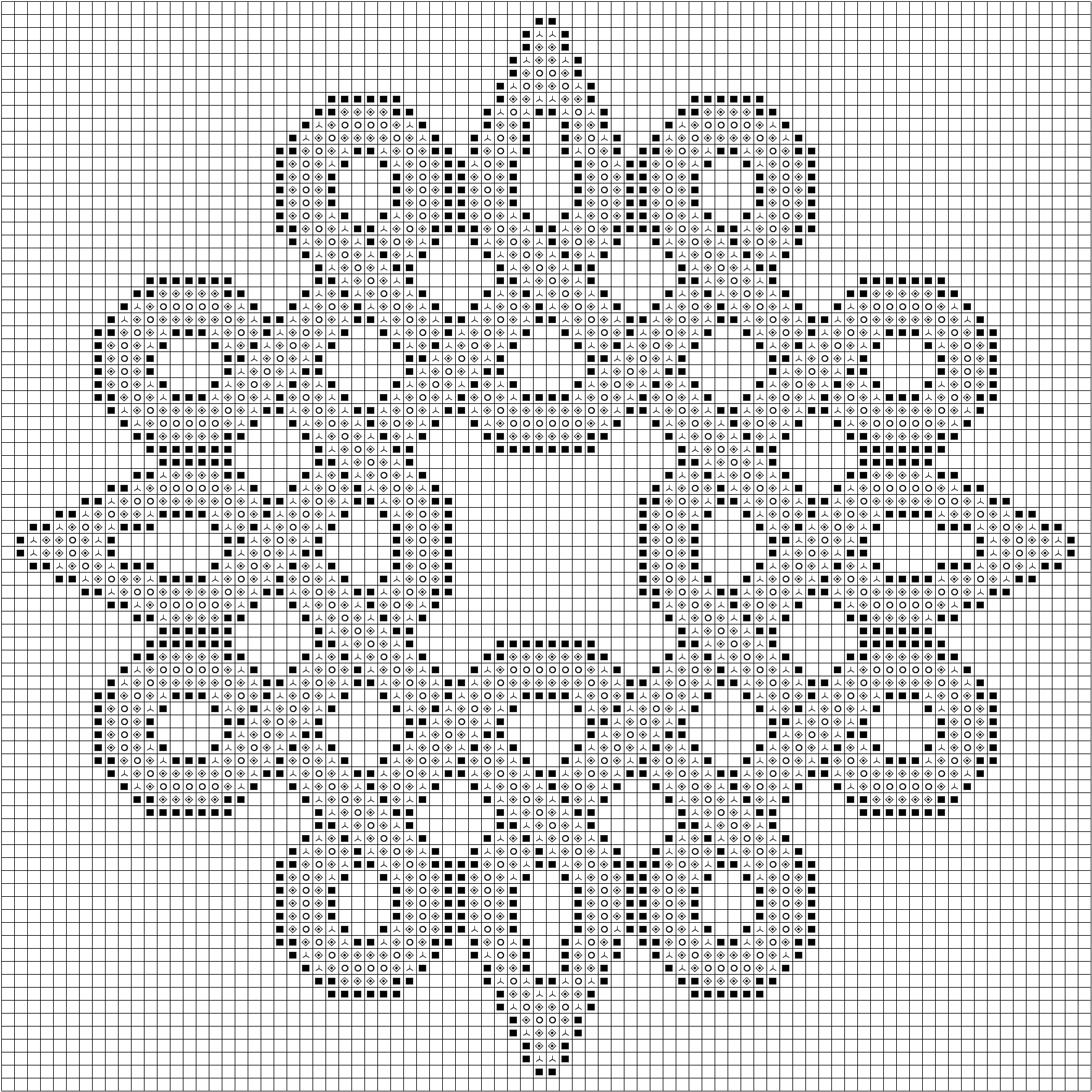 Sample of the free celtic knot inspired knotty entanglements cross sample of the free celtic knot inspired knotty entanglements cross stitch patterns this knot is voltagebd Gallery
