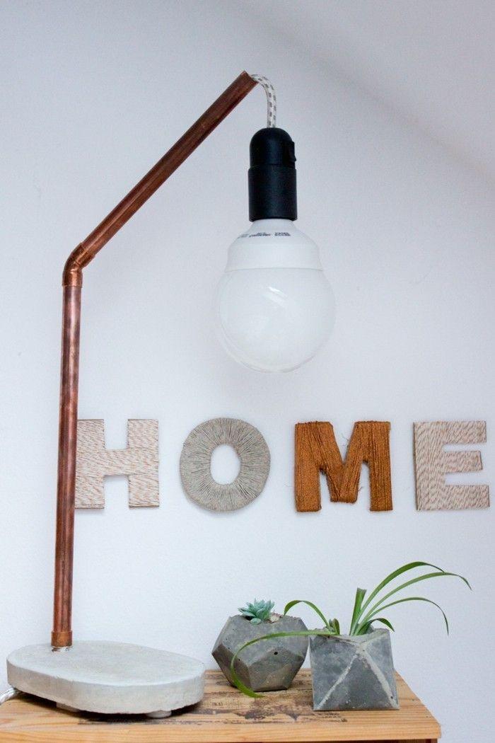 cool wohnung dekorieren wanddeko ideen mit buchstaben Check more at