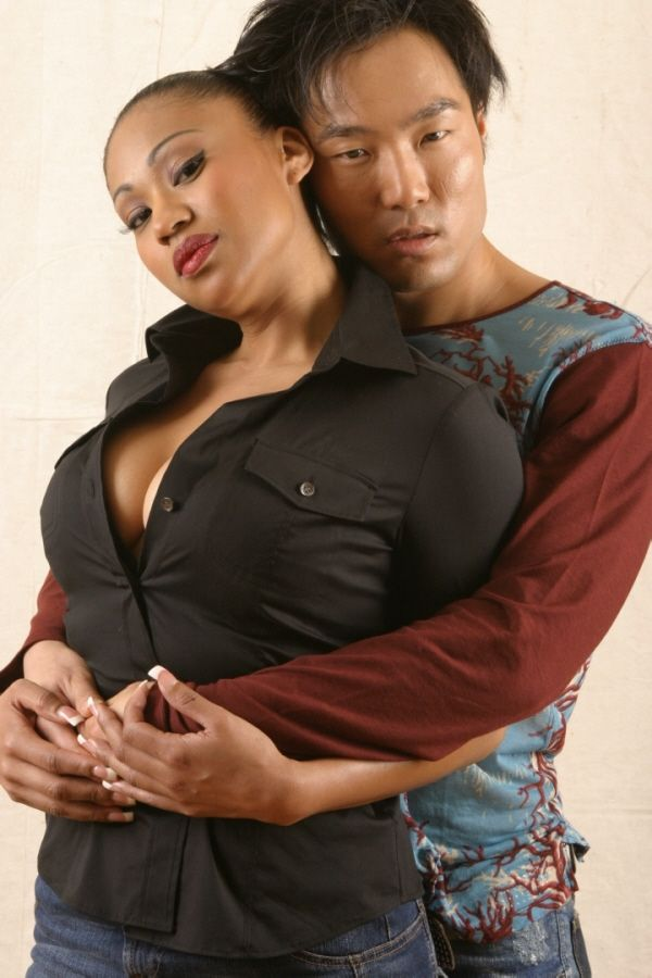 Black couple haing sex