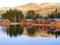 Highland Perthshire Lodges on waterside breaks