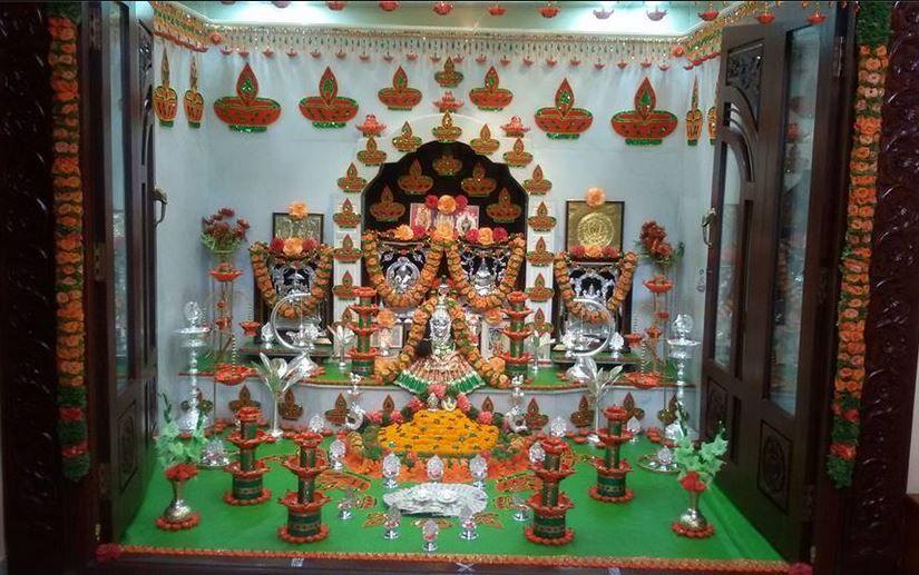 Saraswati Puja Decoration Saraswati Pooja Pooja Rooms Room